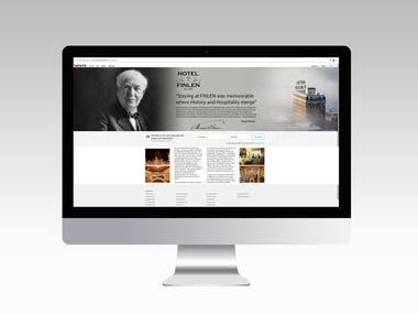 Web Landing Page Design