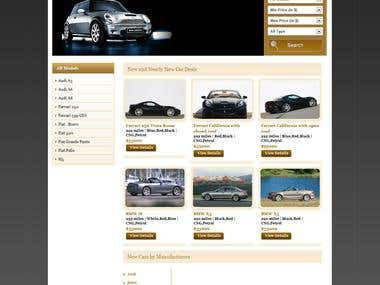 Automobile site