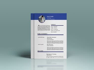 CV formate