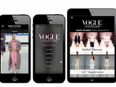 VOGUE COLLECTIONS(Fashion App)