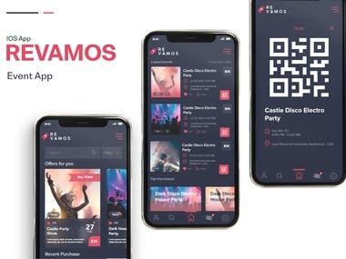 Revamos Event App