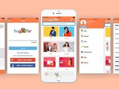 HugOffer(Shopping App)