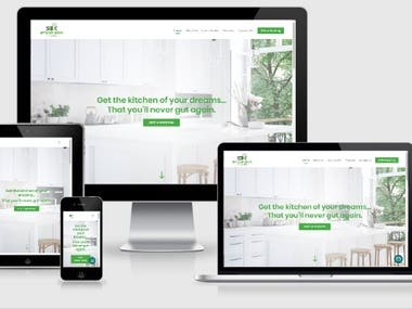 Kitchen Cabinetry Company Website