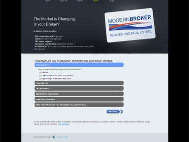 Real Estate Calculator for ModernBroker.com
