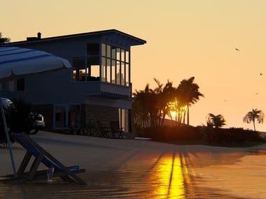 Beach house - 3D Renders