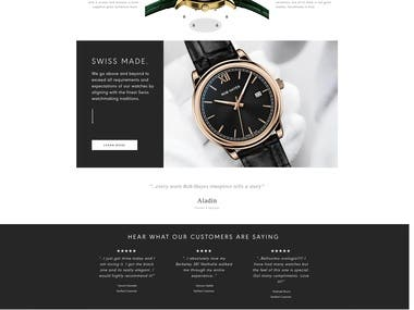 Watch ecommerce wordpress site