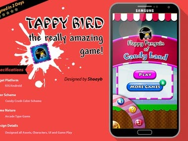 Flappy Bird's Clone for Android and IOS