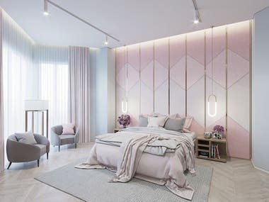 Girls Room Interior Design!