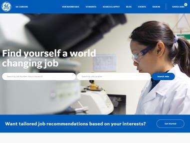 Job.careers.com Site developed.