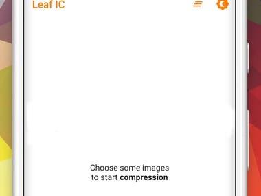 Leaf Image Compressor