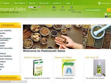 Online Store for Medicines