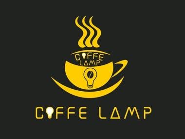 logo coffe lamp