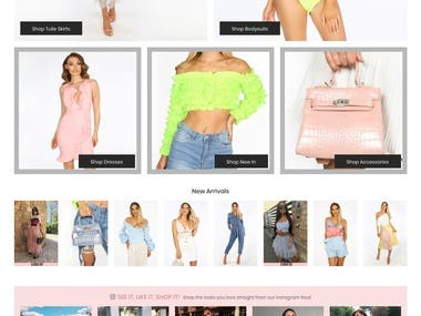 DRESSED IN LUNCY (Shopify)