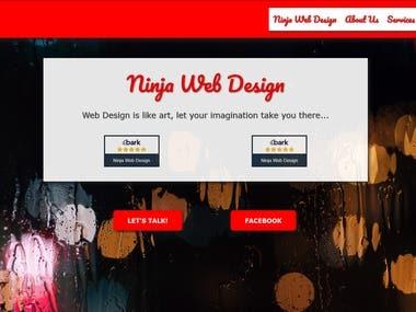 Ninja Web Design | Home