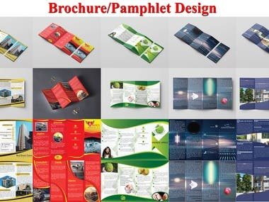 Brochure/Pamphlet Design (Quad/Four Fold)