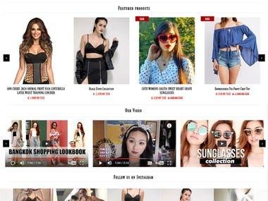 """Online Store """"YESIWEAR.SHOP"""""""