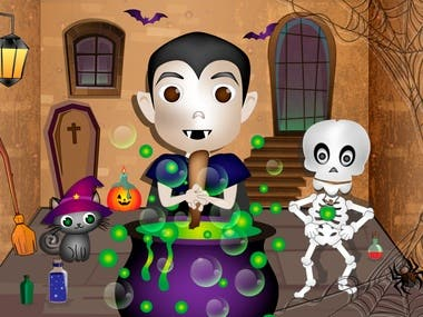 Halloween Children's Book -