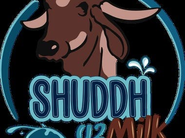 Branding for Shuddha A2 Milk