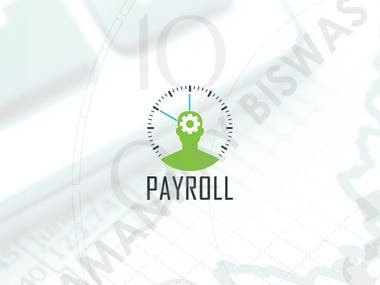 Examples of UI screens of a Payroll Management Mobile App