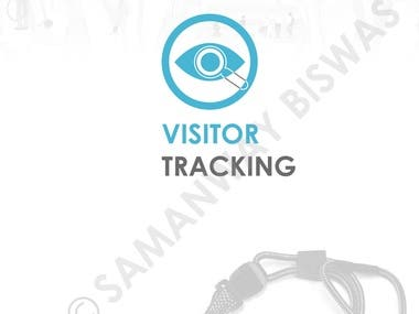 Examples of UI screens of a visitor tracking Mobile App