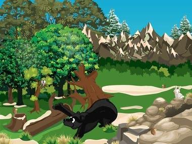Comic Illustration for children