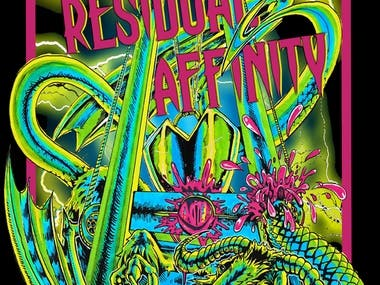 A Residual Affinity T-shirt Design