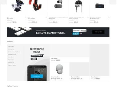 Online Shop Design, build