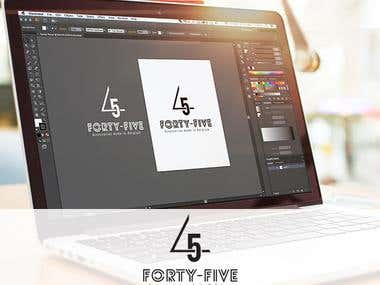 Forty-Five Logo