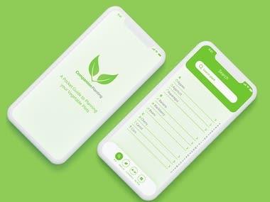 Companion Planting App Concept