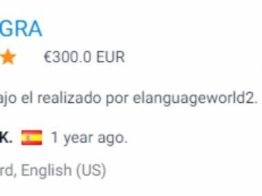 Spanish power point file to English translation
