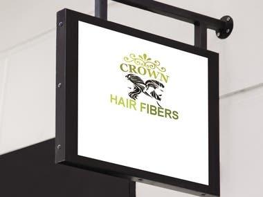 Crown Hair Fibers