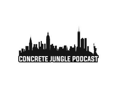 Concrete Jungle Podcast Logo