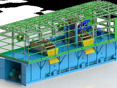 Development of drilling mud cleaning system