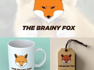 The Brainy Fox logo