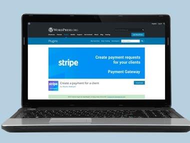 Stripe Payment Gateway (WordPress Plugin)
