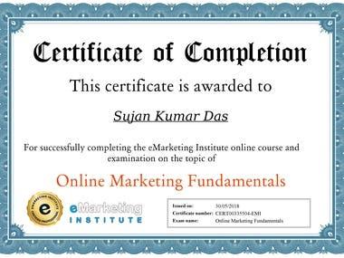 Online Marketing Fundamentals By eMarketing Institute