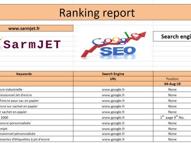 Sarmjet Project's Rank.