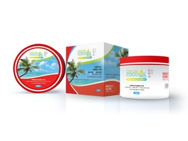 Label & Packaging design for Fairness cream