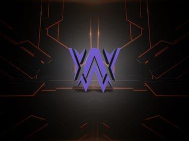 3D Logo Design Gaming