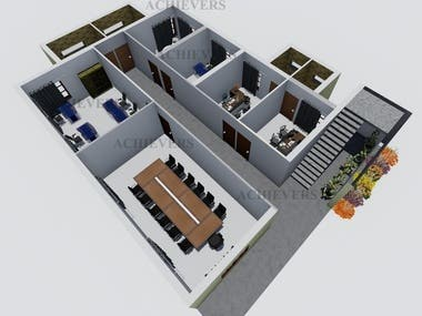 3D - OFFICE BUILDING