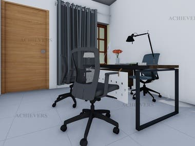 INTERIOR DESIGN OF OFFICE