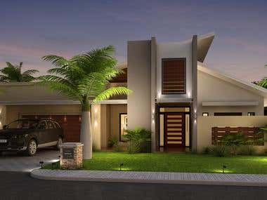 Exterior Building,Architectural Designing,3d Modeling