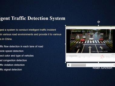 Intelligent Traffic Detection System