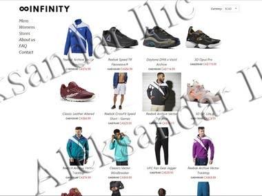 Django Shopping Site