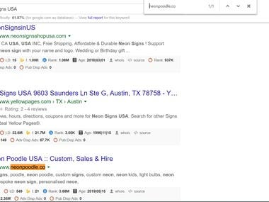 SEO, Google 1st page Rank, Increase traffic