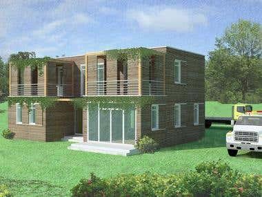 One Beautiful House