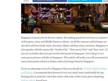 Cultural Blog
