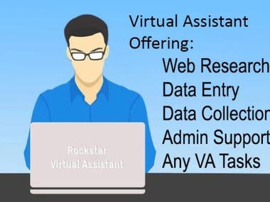 I will be you Virtual assistant