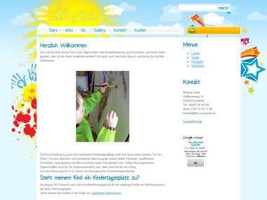 The-Sunnyside.de Webseite für einen Tagesmutter