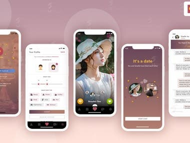 Dating APP: The clone of Instagram